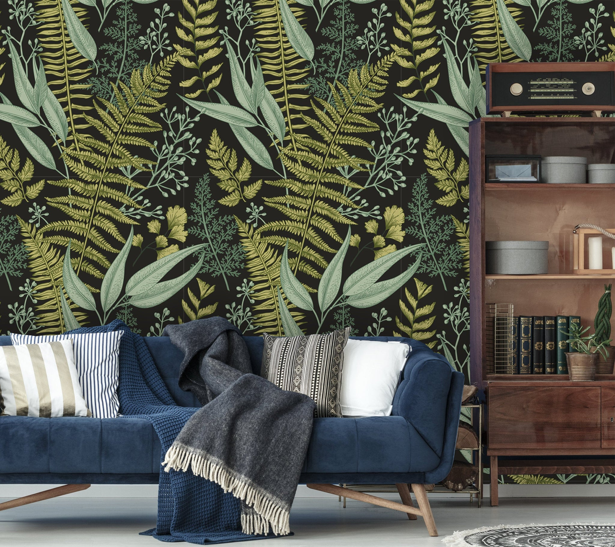 Floral Botanic Removable Wallpaper