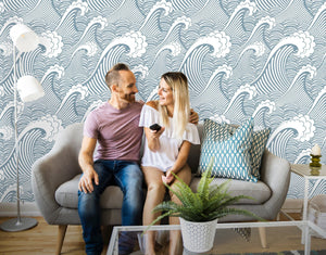Great Wave Removable Wallpaper