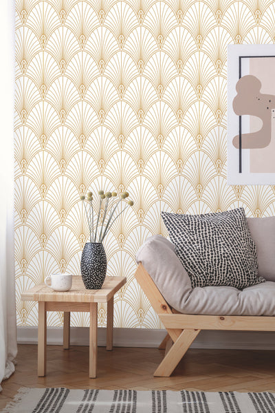 Art Deco Removable Wallpaper