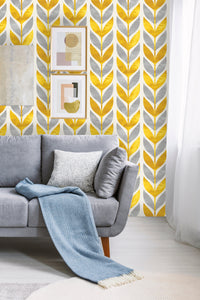 Art Deco Scandinavian Removable Wallpaper