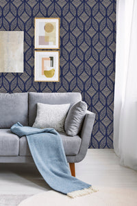 Abstract Pattern Geometric Removable Wallpaper
