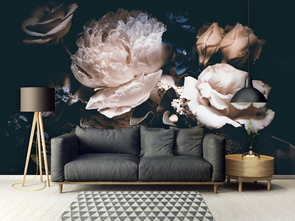 Bouquet of Peonies Removable Mural/Wallpaper