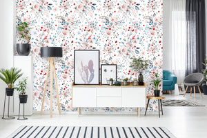 Floral Rose Removable Wallpaper