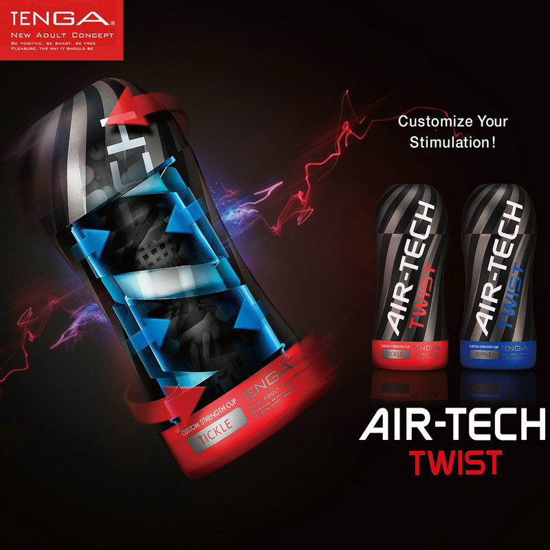 TENGA AIR-TECH TWIST Male Masturbator Reusable Vacuum Cup Sex Toys for Men Vagina Real  Pussy Sex Products Japan Original