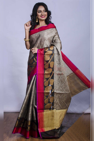 Understated and Elegant Multicolour Soft Silk Saree