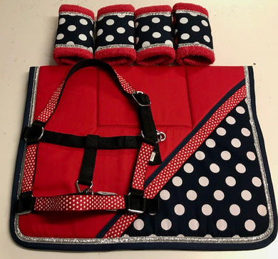 ****SALE**** Designer Saddlecloth Set