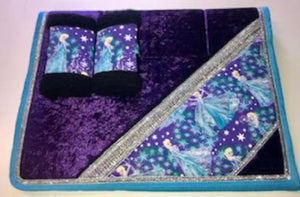 Frozen Bling Saddlecloth Set