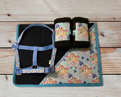 'Limited Edition' Bluey Saddlecloth Set