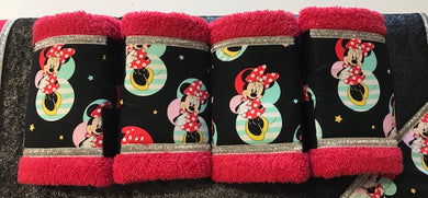 Minnie Mouse Set of 2 Boots