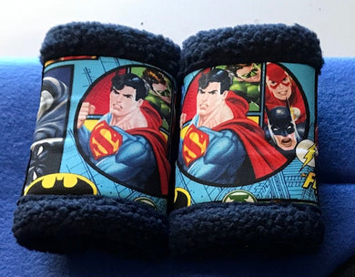 Set of 2 Boots Justice League