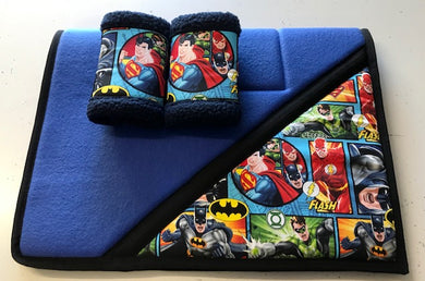 Justice League Saddlecloth Set