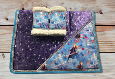 Frozen Sparkle Saddlecloth Set