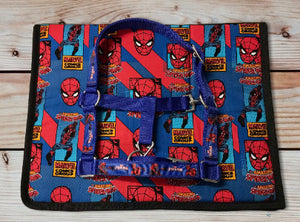 Spiderman Saddlecloth Set