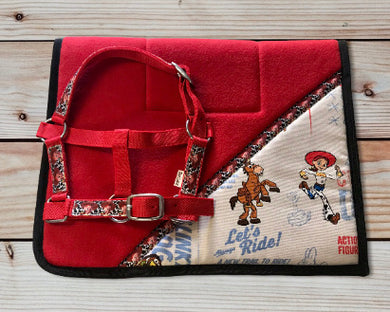 Toy Story 'Jessie' Saddlecloth Set