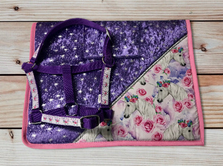Limited Edition Unicorn Saddlecloth Set