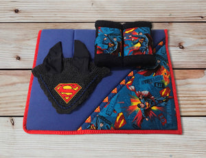 Superman Saddlecloth Set