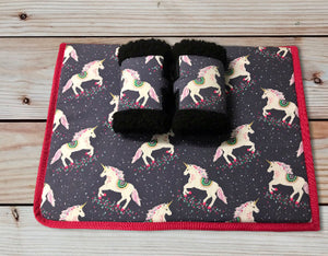 Unicorn Saddlecloth Set