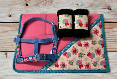 Peppa Pig Saddlecloth Set