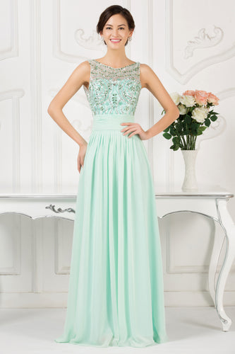 Cl007532 - Ladies Long Formal Wear in Mint