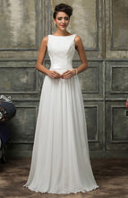 Load image into Gallery viewer, CL007560 - Ladies Long Formal Wear in White