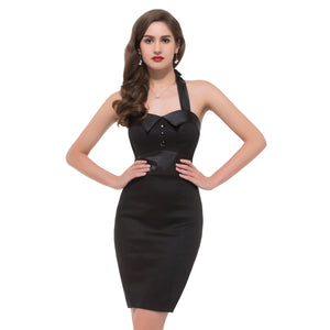 CL4590a - Vintage Inspired Pencil Dress