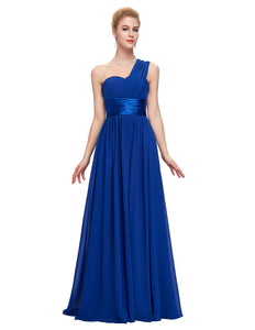 CL6022 - Ladies Long Formal Wear in Royal Blue