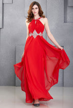 Load image into Gallery viewer, CL6184 - Ladies Long Formal Wear in Red