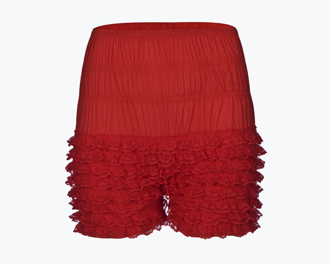 FKR - Frilly Knickers in Red
