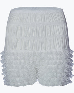 FKW - Frilly Knickers in White