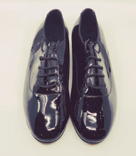 Load image into Gallery viewer, 7825 - Gentlemen's Black Patent Leather Lace Up Split-sole High Performance Dance Shoes