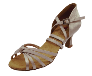 S27B - Ladies High Performance Dance Sandal in Taupe