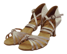 Load image into Gallery viewer, S27B - Ladies High Performance Dance Sandal in Taupe