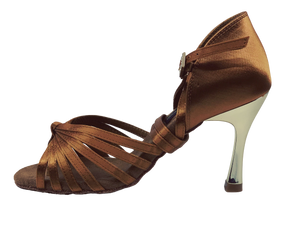S121T - Ladies Elite High Performance Dance Sandal in Tan