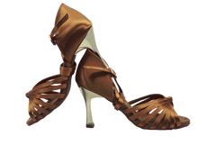 Load image into Gallery viewer, S121T - Ladies Elite High Performance Dance Sandal in Tan