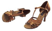 Load image into Gallery viewer, S23T - Ladies Tan High Performance Dance Sandal