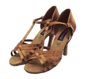 S23T - Ladies Tan High Performance Dance Sandal