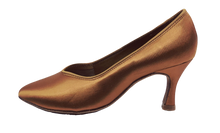 Load image into Gallery viewer, 78753T - Ladies Close Toe Ballroom Shoes in Tan