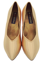Load image into Gallery viewer, 78753S - Ladies Close Toe Ballroom Dance Shoe in Skin