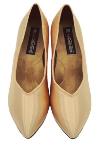 78753S - Ladies Close Toe Ballroom Dance Shoe in Skin