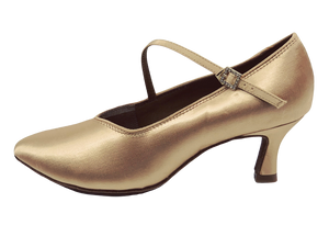 78752S - Ladies Close Top Ballroom Dance Shoes in Skin