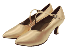 Load image into Gallery viewer, 78752S - Ladies Close Top Ballroom Dance Shoes in Skin