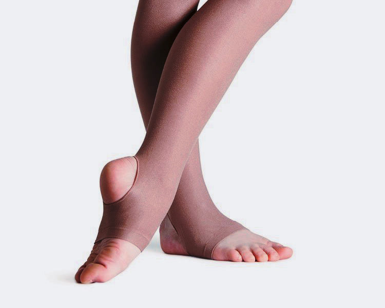 ST - Professional Tan Stirrup Stockings
