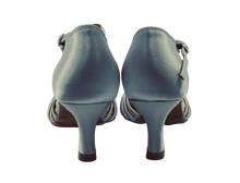 Load image into Gallery viewer, 7759S - Ladies Dance Shoe in Silver Satin