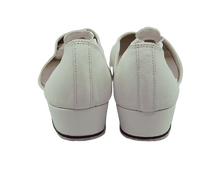 Load image into Gallery viewer, 6605W - Ladies Close Toe Character Dance Shoes in White