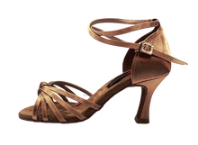 Load image into Gallery viewer, S27A - Ladies High Performance Latin Dance Sandals