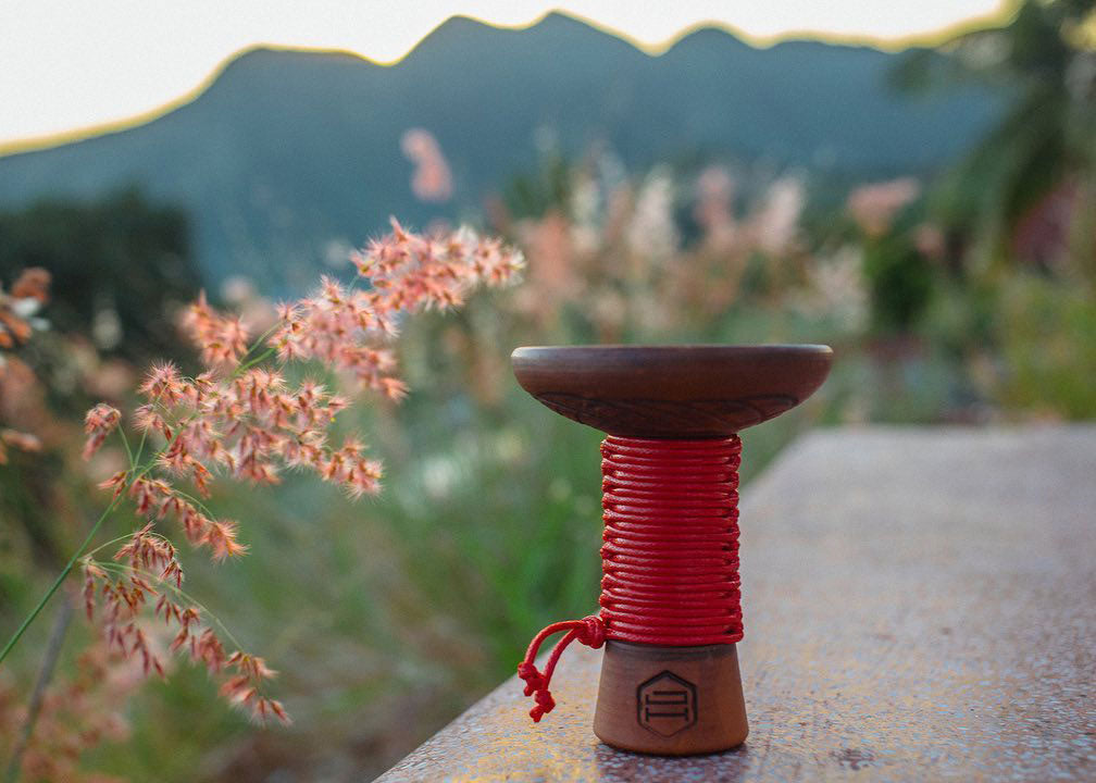 Japona Mummy Hookah Bowl Red