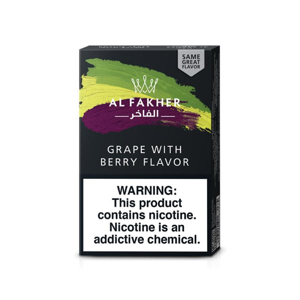Al Fakher Grape With Berry Hookah Tobacco 50g