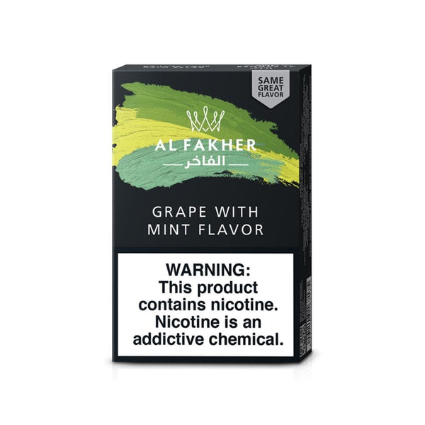 Al Fakher Grape With Mint Hookah Tobacco Flavor 50g