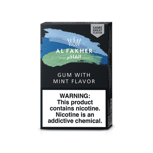 Al Fakher Gum With Mint Hookah Tobacco 50g