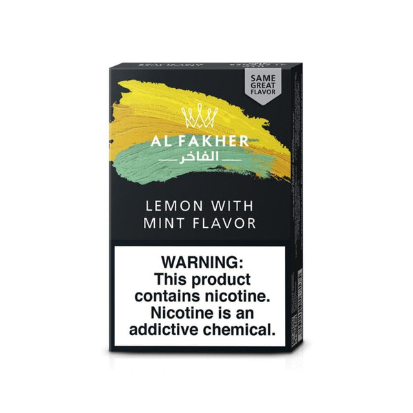 Al Fakher Lemon With Mint Hookah Tobacco 50g